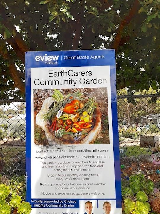 sign about garden