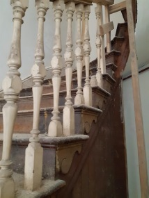staircase close up