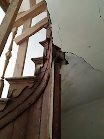 staircase damage