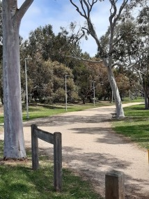 trail towards Centennial park