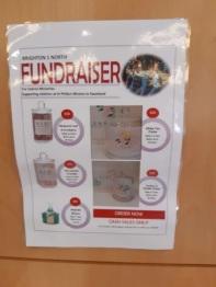 cabrini fundraiser poster