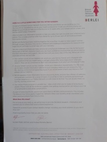 letter from berlei