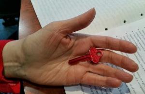 judy with key
