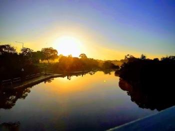mordi creek sunset 2