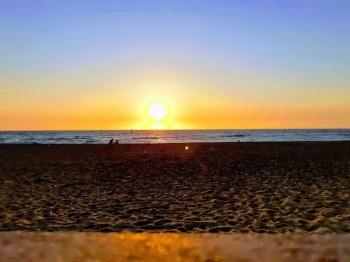 mordialloc beach sunset