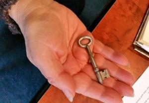 toula with key