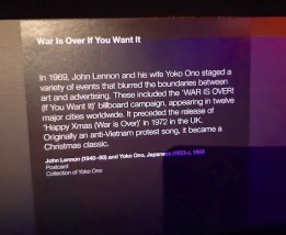 war is over - john and yoko