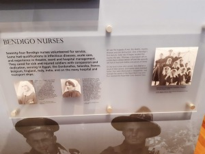 bendigo nurses ww1