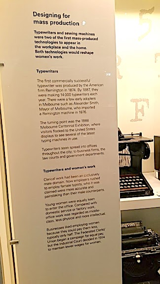 information about typewriters and clocks