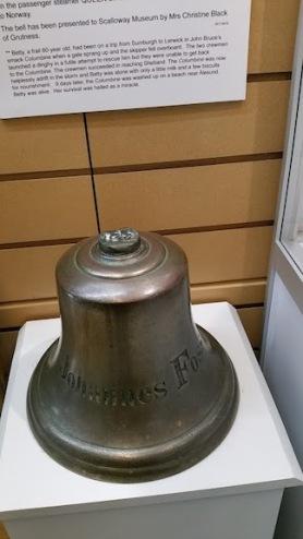 ship's bell shetland