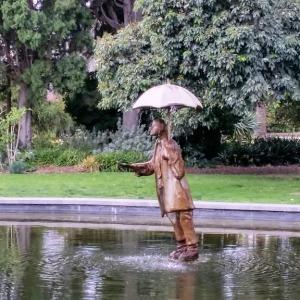 st kilda statue in gardens