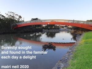 bridge over creek