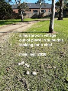 mushroom half circle