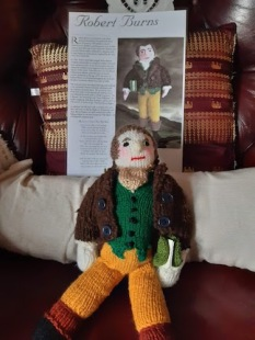 rabbie burns doll