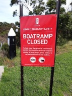 Boat ramps initially closed